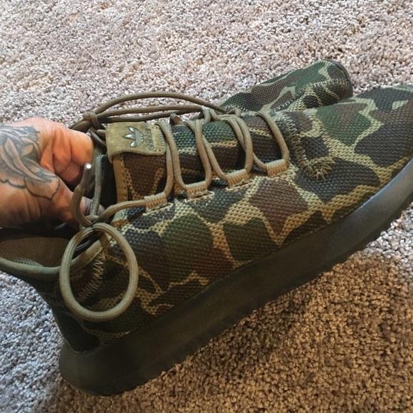 Adidas Camo Tennis Shoes Womens Mens 85